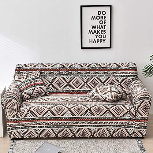 WXQY Elastic Floral Sofa Cover Living Room Elastic Sofa Cover Furniture Protection Cushion all Inclusive Sofa Cover Chaise Longue A21 2 Seater