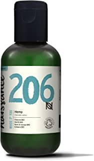 Naissance Organic Virgin Hemp Seed Oil 100ml. 100% Pure & Natural