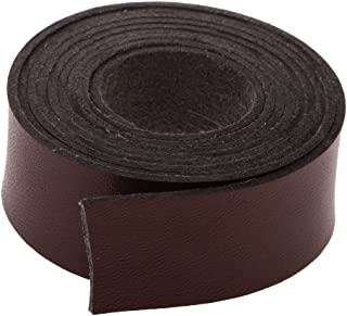 2 Meters 20mm Faux Leather Strip Strap Leather Craft Belt Handle DIY Coffee