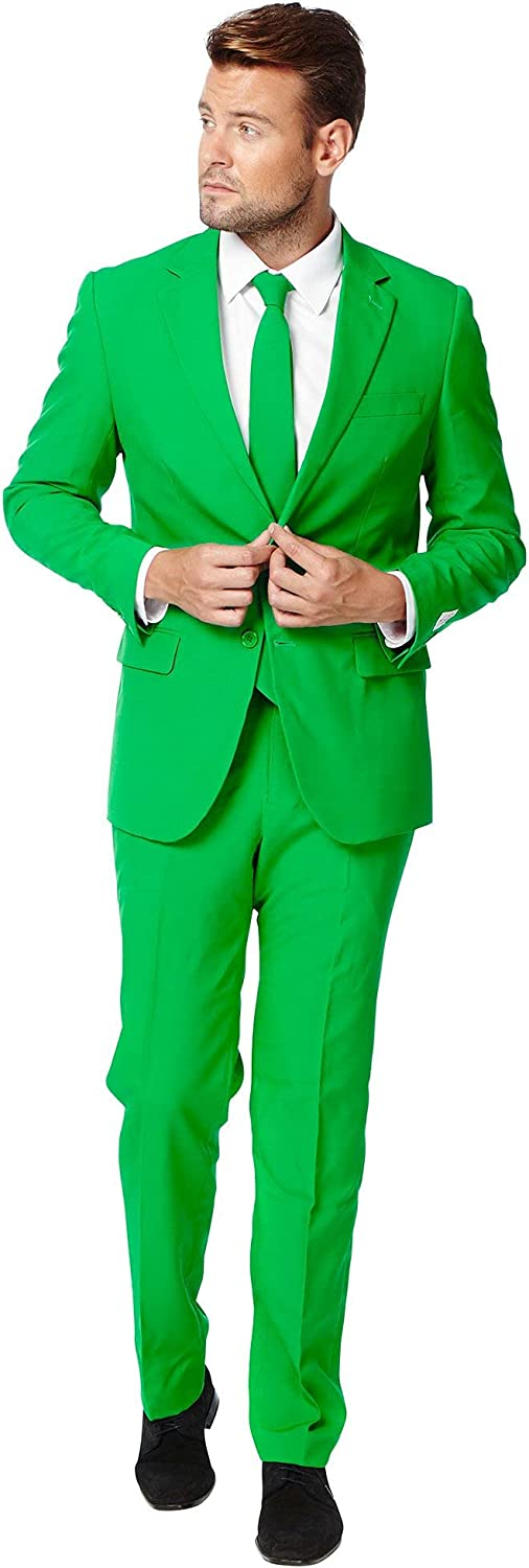 OppoSuits Men's Max 46% OFF Ranking TOP15 The Suit Orange-Party Costume