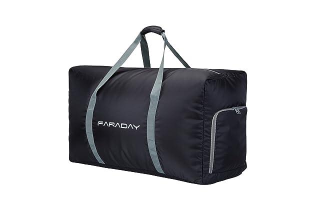 9a390c3de 120L Packable Duffle Bag,Extra Large Sport Duffle Bag for Men with Shoe  Compartment (Black)