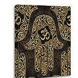 Shenywell Hamsa Canvas Print Ornate Amulet...