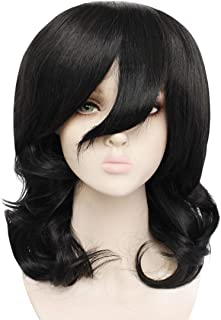 JoneTing Long Natural Wavy Wigs for Cospaly Costume Wigs Black Wig for Halloween