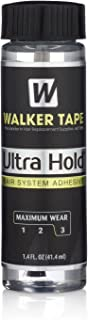 Walker Tape Ultra Hold Acrylic Adhesive 1.4Oz W/Brush Applicator Hair Bonding Glue