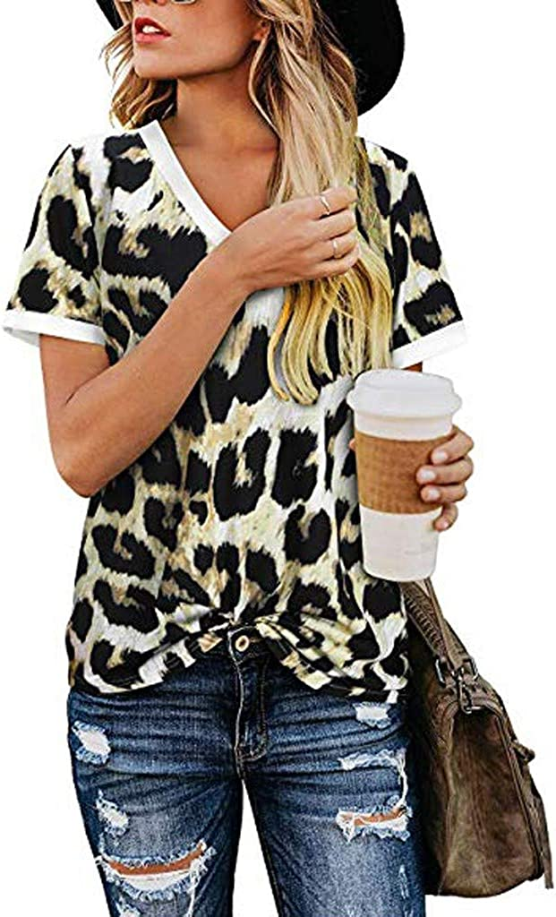 TRENDINAO Summer Women's Sexy Cold Shoulder Max 75% OFF Short Blouse Sleeve SEAL limited product