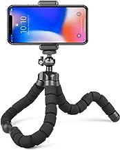 Rhodesy Oktopus Handy Stativ Tripod Dreibein Stativ Kamera-Stativ Ständer Halter für Kamera und jedes Smartphone inklusive...