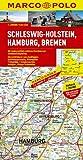 MARCO POLO Karte Schleswig-Holstein, Hamburg, Bremen 1:200.000 (MARCO POLO Karten 1:200.000)