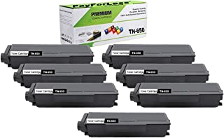 PayForLess Compatible TN650 TN-650 Toner Cartridge Black 7PK for Brother HL-5340d HL-5350dn HL-5370dw DCP-8085dn DCP-8080dn MFC-8480dn MFC-8890dw MFC-8680dn MFC-8690dw