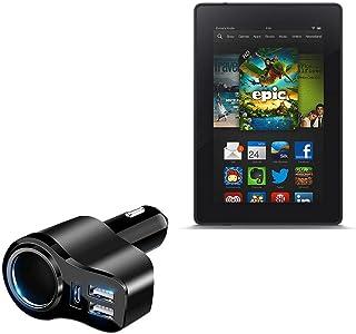 Carregador de carro BoxWave para Kindle Fire (1ª geração 2011), [Carregador de carro PD XtraPower] Carregador de carro com...