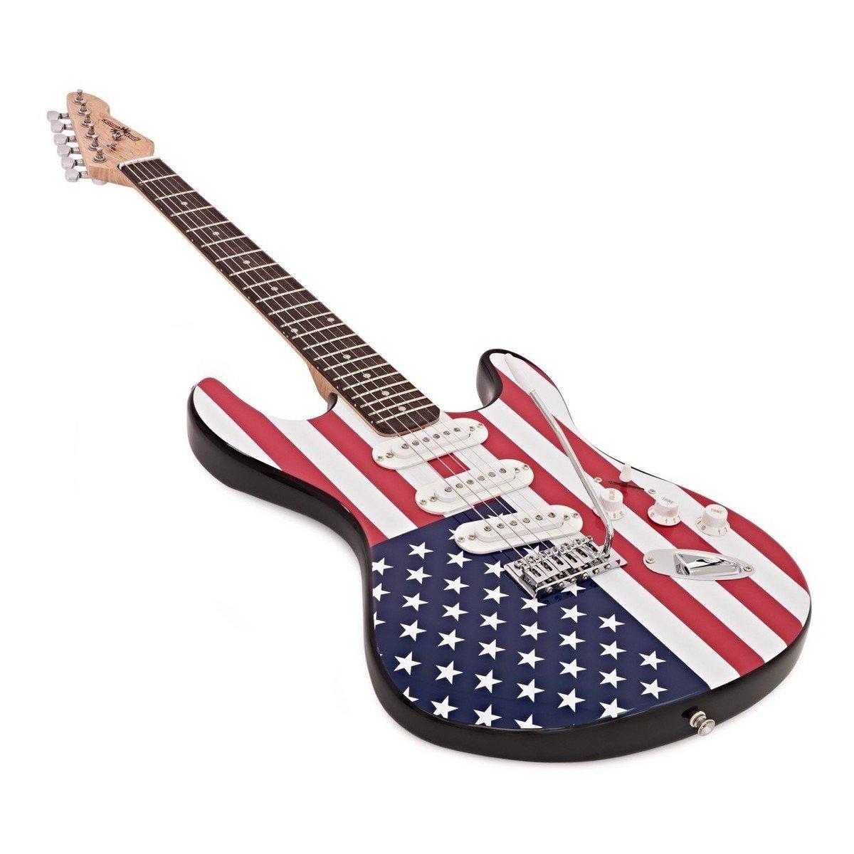 Guitarra Eléctrica LA + Pack Completo - Barras y Estrellas: Amazon.es: Instrumentos musicales