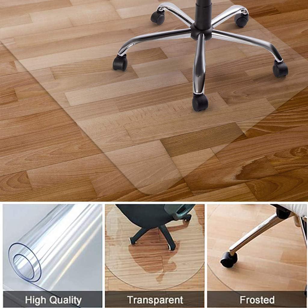 BLSTY Anti Scratch Chair Mat Transparent No Wrap No BPA Floor Mats ...