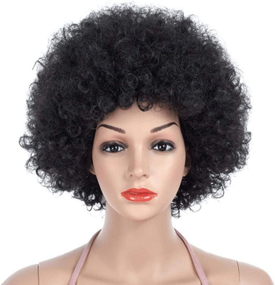 YJRIC Wigs European Max 74% 2021 new OFF and Fashionable Volume Fluffy Ex Small Wig