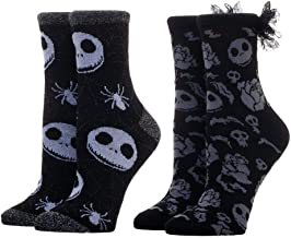 Nightmare Before Christmas Ankle Socks 2-Pack Nightmare Before Christmas Apparel Nightmare Before Christmas Gift - Nightmare Before Christmas Socks Nightmare Before Christmas Accessories