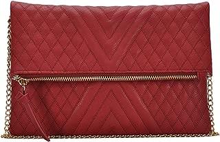Carly Crossbody Bag: Black - Red - Pewter BGW-1730