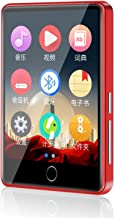 $71 » XWWS MP3 Player, 2.8'' Full Touch Screen MP4 Player with Bluetooth 5.0, Portable HiFi Lossless Sound MP3 Music Player with...