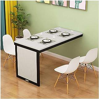 GFF Table Pliante Fixée Au Sol Multifonctionnelle Ordinateur De Bureau Table De Salle À Manger Économise De l'espace Table...