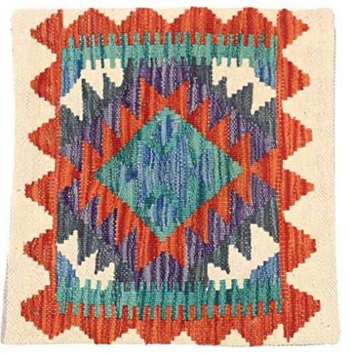 WR Home Decore Tapis Kilim Authentique Fait Main Housses de Coussin, 45cmx45 cm (368), Guide de Cadeau de Noël et Nouvel an