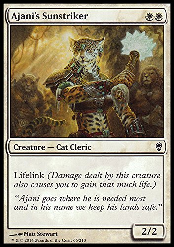 Magic The Gathering - Ajani's Sunstriker (66/210) - Conspiracy by
