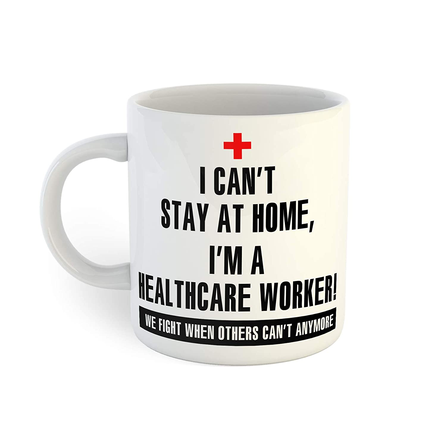 Not Quarantined Healthcare Safety famous and trust Worker Coffee Appreciation Mug