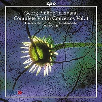 Telemann: Complete Violin Concertos, Vol. 1