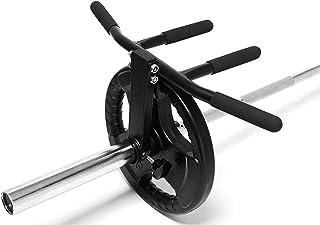 ホームジムトークアウト背中筋肉バーフィットネスバーベルTバーロウプラットフォームマルチグリップ地滑りハンドルアタッチメント、フィット1インチ&2インチバー