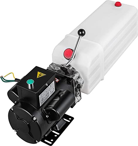 2021 Mophorn Hydraulic Pump 2.2KW discount Car Lift Hydraulic outlet online sale Power Unit Hydraulic Power Pack 220V 3HP 50HZ 2750 PSI for Two and Four Post Lift Auto Hoist Car Lift with 6L Plastic Reservoir outlet online sale