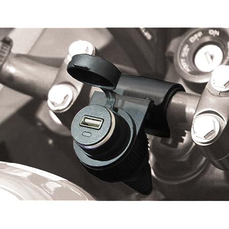 Bc Battery Controller 710 S12usb Wasserdichte Bordsteckdose Zigarettenanzünderbuchse Mit Lenkerhalterung Für Motorrad Mit Usb Adapter 5 V Auto
