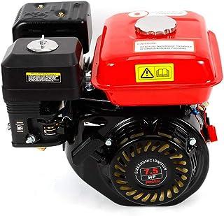 Motor de gasolina de 7,5 CV/4 tiempos, motor de kart, refrigerado por aire, alimentación por gravedad, motor industrial, ...