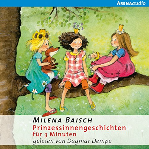 Prinzessinnengeschichten für 3 Minuten audiobook cover art