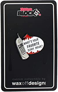 Toynk Scream Phone What's Your Favorite Scary Movie? Enamel Collector Pin