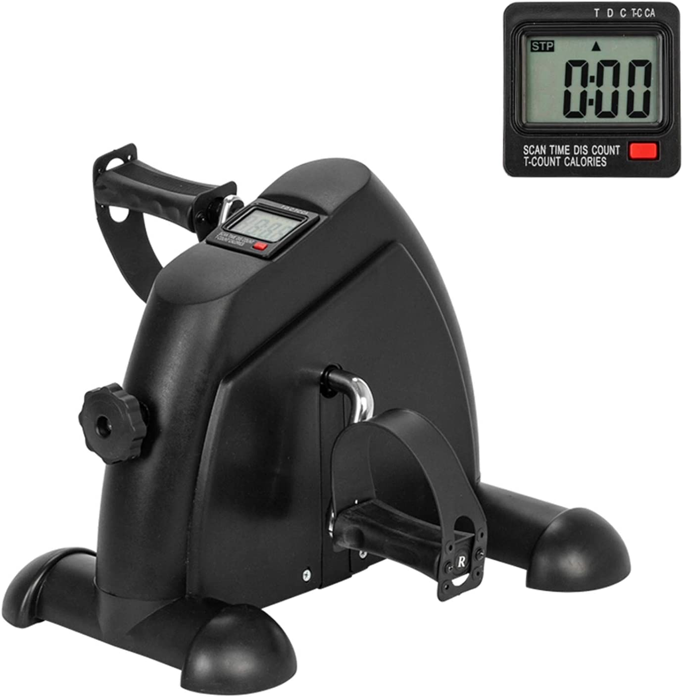 Mini Exercise Bike Denver Mall Portable Large discharge sale Pedal Feet and T Hands