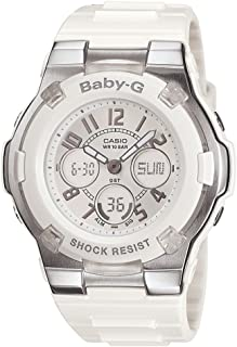 Women's BGA110-7B Baby-G Shock-Resistant White Sport Watch