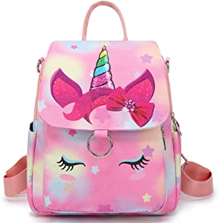 Small Backpack Purse Women Girls Mini Backpack Nylon Casual Daypack Satche Bag for Lady
