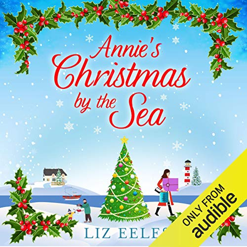 Annie's Christmas by the Sea audiobook cover art