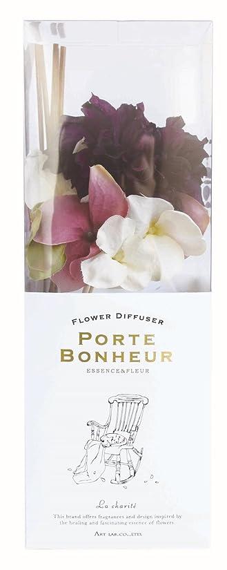 遠征蜜遊具アート?ラボ ESSENCE&FLEUR PORTE BONHEUR フラワーディフューザー La Charite 90ml