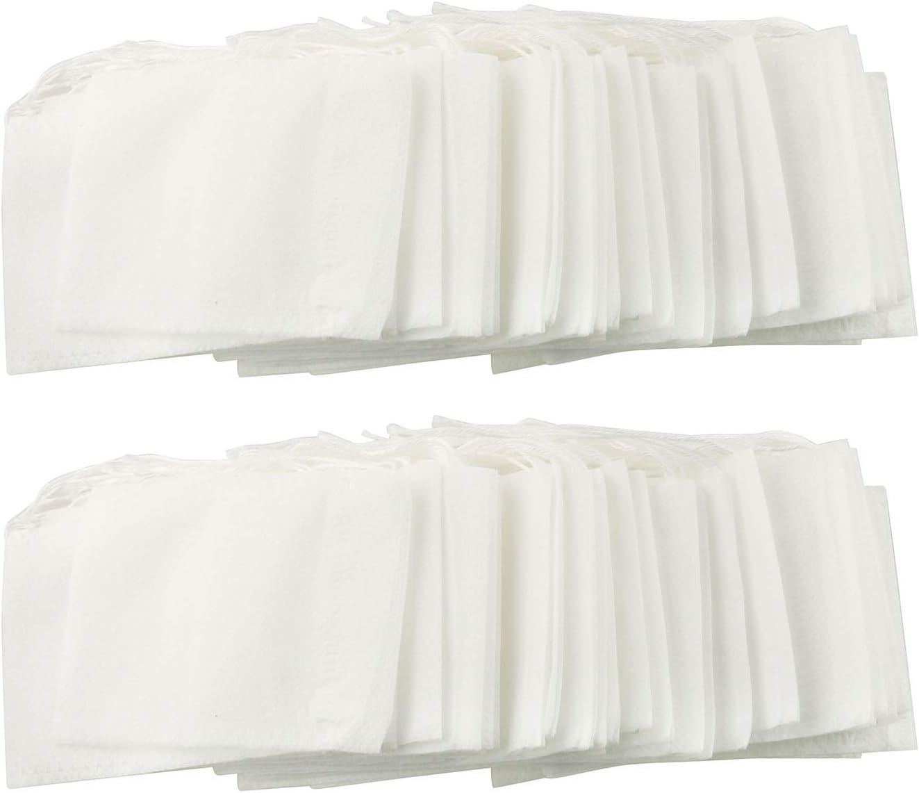 Tegg Empty Tea Filter Cheap SALE Start Fresno Mall Bag Disposable Filt Non-woven 7x9cm 100PCS
