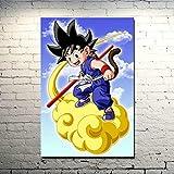 KWzEQ Drucken auf Leinwand Anime Charaktere für