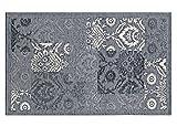 BIANCHERIAWEB Tappeto Velour Antiscivolo Modello Ghibli By Suardi 115x175 cm Grigio