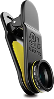 Phone Lenses by Black Eye    Macro G4 Clip-on Lens Compatible with iPhone, iPad, Samsung Galaxy, and All Camera Phone Models