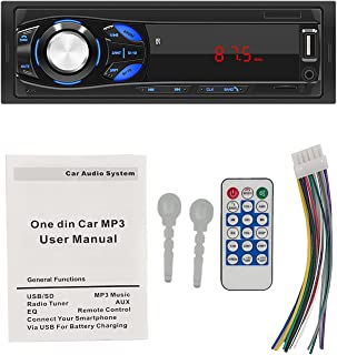 $54 » ZWMBAOR Car Bluetooth Hands-Free Player,with Time Display Function&Power Off Memory Playback Function,Support U Disk & Tf ...