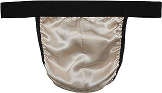 LSHARON Silk Men's Sexy 100% Mulberry Silk G-String Lingerie Underwear Thong Briefs