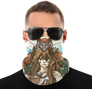 Nother Pagan Wicca Eostre Ostara gudinna blomma hare vindpaus bandana scarf tvättbar dammmask balaclava ansikte mun