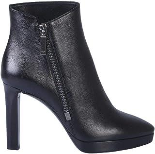 SAINT LAURENT Luxury Fashion Womens 5814750ZZ001000 Black Ankle Boots | Fall Winter 19