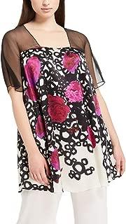 Marina Rinaldi Women's Fanny Silk Blouse, Multicolored