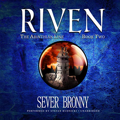 Riven audiobook cover art