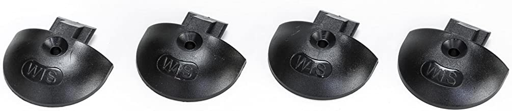 Gris Pl/ástico endkappe//inserci/ón Tapa para carril airlin Forma Redonda