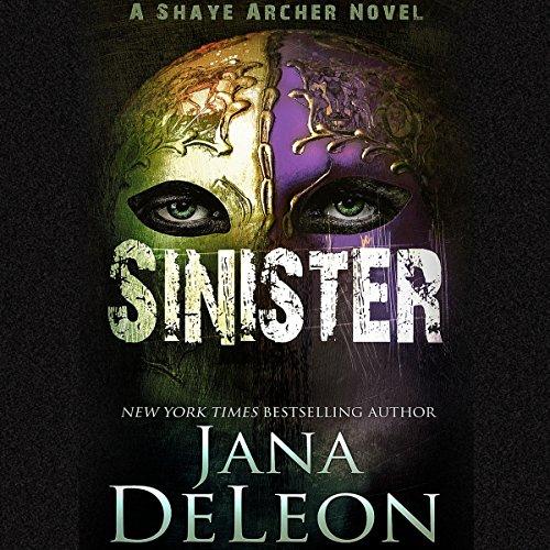 Sinister audiobook cover art