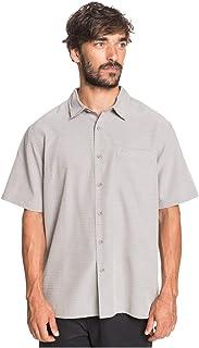 Quiksilver Men's Centinela 4 Button Up Comfort Fit Pocket Shirt