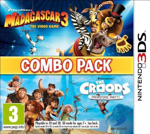 Madagascar 3 & The Croods: Fiesta Prehistórica - Combo Pack