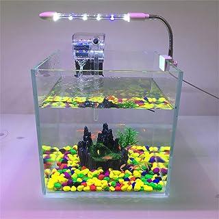 LED Luces de Acuario Clip de Planta Acuática con Clip Luz Aquarium Lámpara Pequeño Mini Soporte
